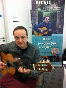 event guitarist in sussex - hussein dickie